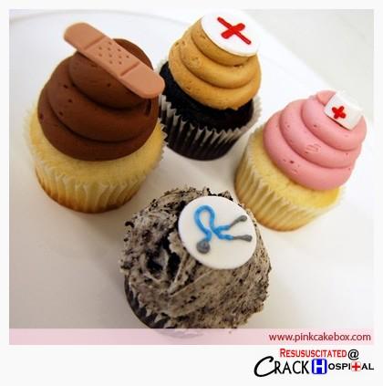 Sykepleier muffins