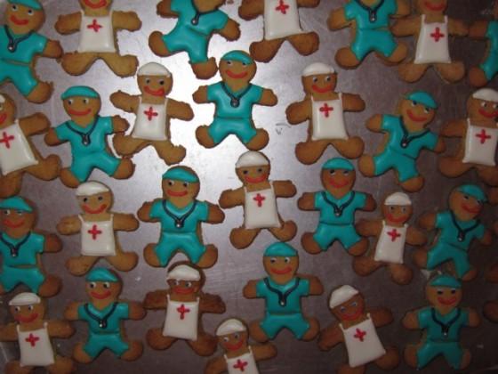 pepperkake leger og sykepleiere