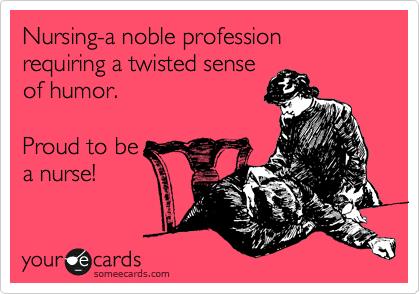 Stolt av å være sykepleier