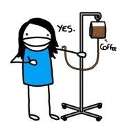 kaffetørst sykepleier