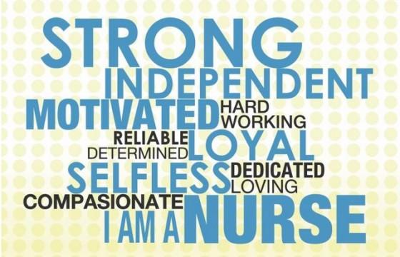 jeg er en sykepleier