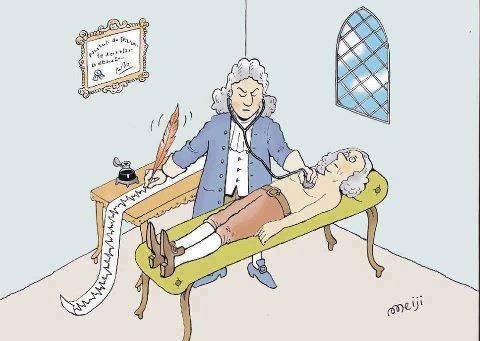 EKG i gamledager