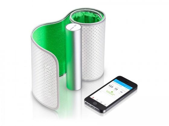 Blodtrykkmåler til mobilen
