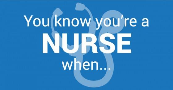 du vet du er sykepleier når